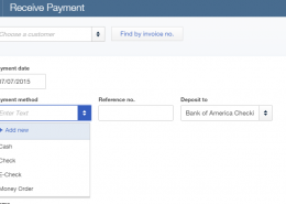 what is the processing of credit card transaction on your iOS or Android device in QuickBooks